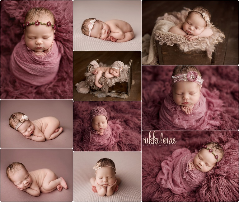 Sydney 13 days newborn photographer fresno ca